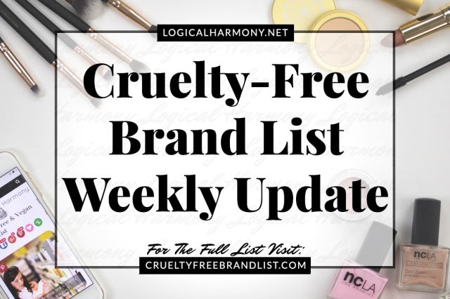 cruelty-free-brand-list-weekly-update