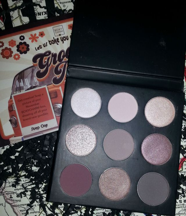 studio make up cool down palette boxy charm product review